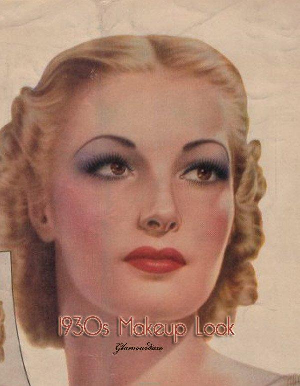 1930s Makeup Tutorial | make up tutorial vintage 1930 s