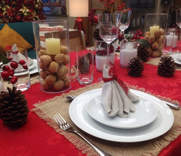 mesa Natal é de casa